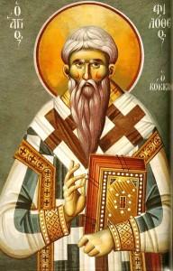 Ο Άγιος Φιλόθεος ο Κόκκινος
