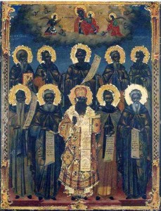 Οι γνωστοί Άγιοι και οι κύριες εορτές της Μονής