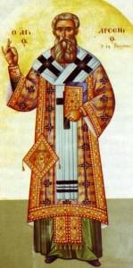 Ο Άγιος Νεομάρτυς Αρσένιος, επίσκοπος Βεροίας