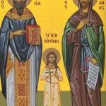 Δύο Κύπριοι από την Πάφο, αναφέρουν σε επιστολή τους τα θαύματα που έκαναν σε αυτούς οι Άγιοι Ραφαήλ, Νικόλαος και Ειρήνη