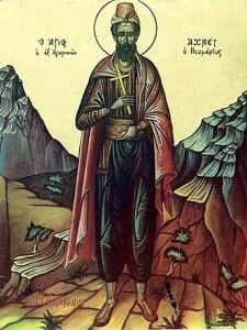 Η μεταστροφή ενός απίστου, ο Άγιος Νεομάρτυς Αχμέτ