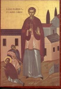 Ο Άγιος Νεομάρτυς Γεώργιος από την Έφεσο