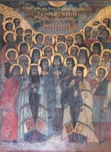 Ο Άγιος Νεομάρτυς Αγγελής εκ της Κωνσταντινουπόλεως