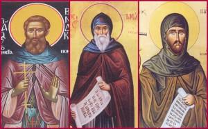 Οι Άγιοι Νεομάρτυρες Συνέσιος, Βενέδικτος, Τιμόθεος και Παύλος