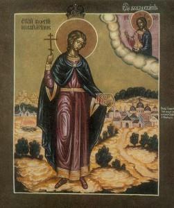 Ο Άγιος Νεομάρτυς Γεώργιος ο Σέρβος