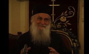 Ο Γέροντας Ιωσήφ στην Εορτή της Κοιμήσεως της Θεοτόκου (28-8-1999)