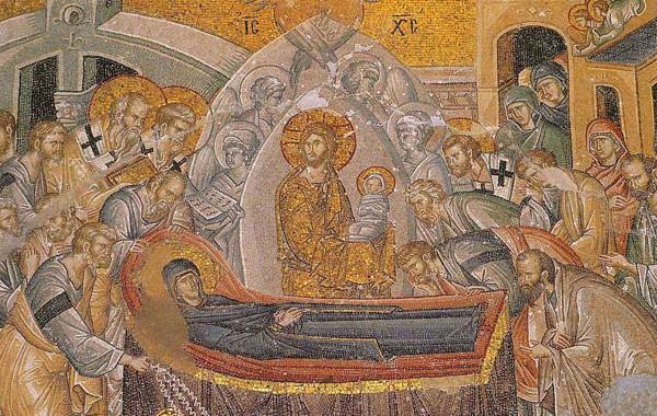 Εγκώμιο στην κοίμηση της αγίας Δεσποίνης ημών Θεοτόκου