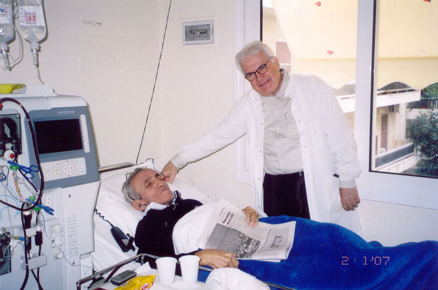 Γεώργιος Ψημένος, Νεφρολόγος,