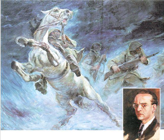 Αλέξανδρος Αλεξανδράκης. Ο ζωγράφος του  '40