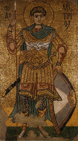 Το Εγκώμιο του Αγίου Γρηγορίου του Παλαμά στον Άγιο Δημήτριο τον Μυροβλύτη