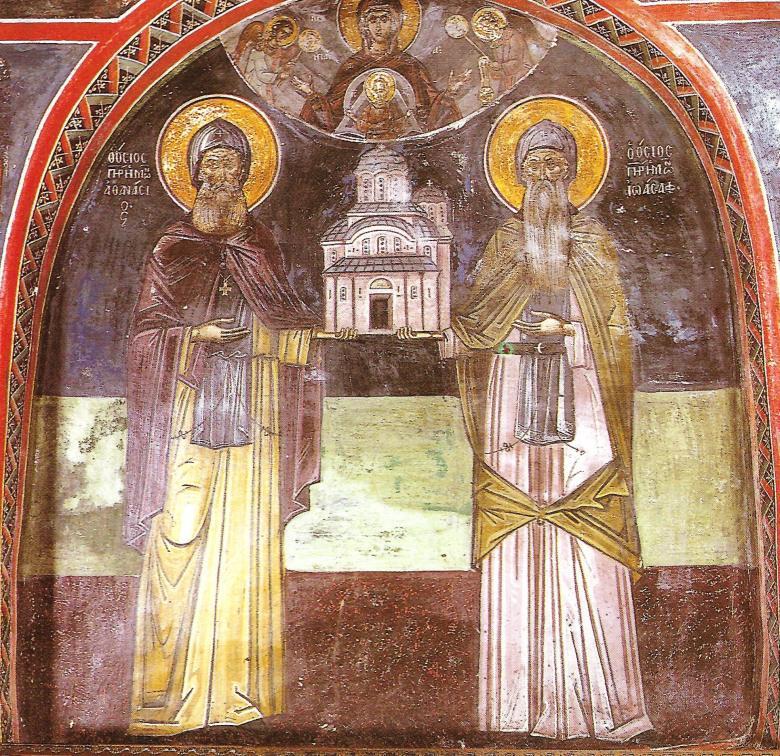 Ιερά Μονή Μεταμορφώσεως του Σωτήρος ή Μεγάλου Μετεώρου..ΕΙΚΟΝΕΣ