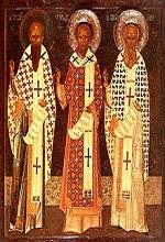 Οι Τρεις Ιεράρχες, σύμβολα της εκκλησιαστικής κοινωνίας