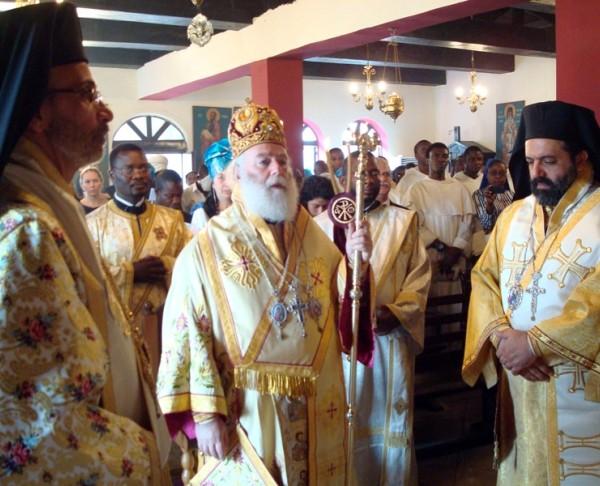 Πατριαρχική Θεία Λειτουργία στο Λάγκος της Νιγηρίας