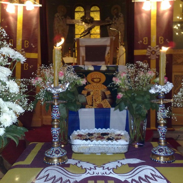 Τα ιερά μνημόσυνα