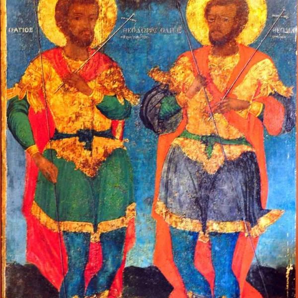 Θαύμα Αγίων Θεοδώρων στην Κωνσταντινούπολη