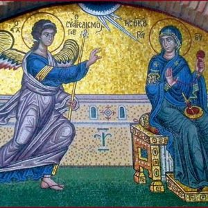 ΤΕΤΑΡΤΗ 24/3 – 20:00 – Ιερά Αγρυπνία επί τη εορτή του Ευαγγελισμού της Θεοτόκου