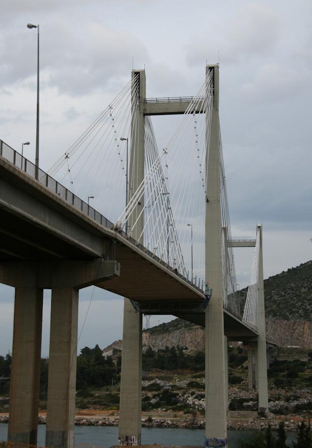 Η κρεμαστή γέφυρα της Χαλκίδας