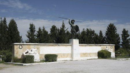 Μνημείο μάχης Θερμοπυλών