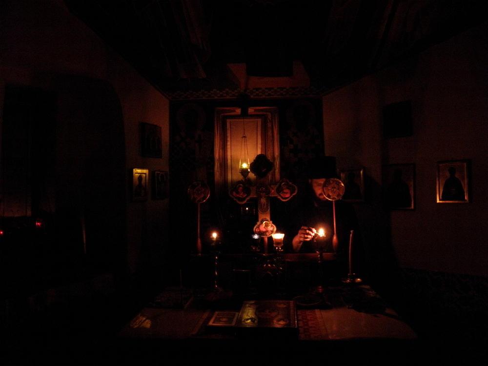 Η αγρυπνία του μοναχού στο κελλί του   Πεμπτουσία