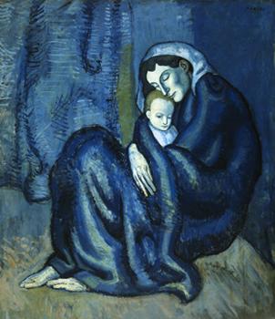 Η μητέρα να προσφέρει στο παιδί της το χάδι της προσευχής
