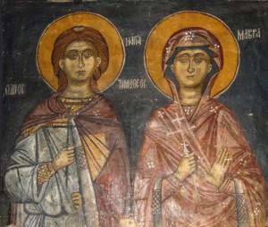 Οι Άγιοι Μάρτυρες Τιμόθεος και Μαύρα, ένα αγαπημένο και γενναίο ζευγάρι