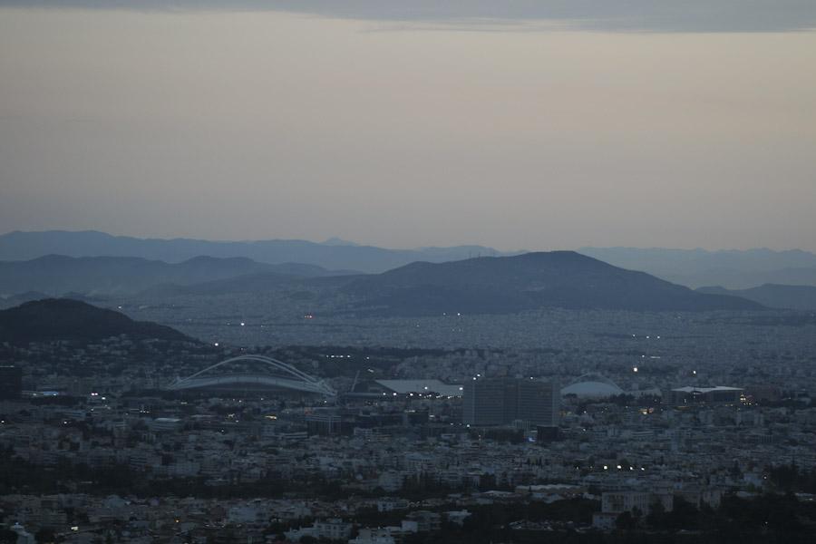 Όψεις της Αθήνας από ψηλά