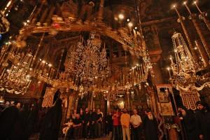Πανήγυρις Βατοπαιδινών Αγίων (23 Ιουλίου 2012): Η θεία λειτουργία