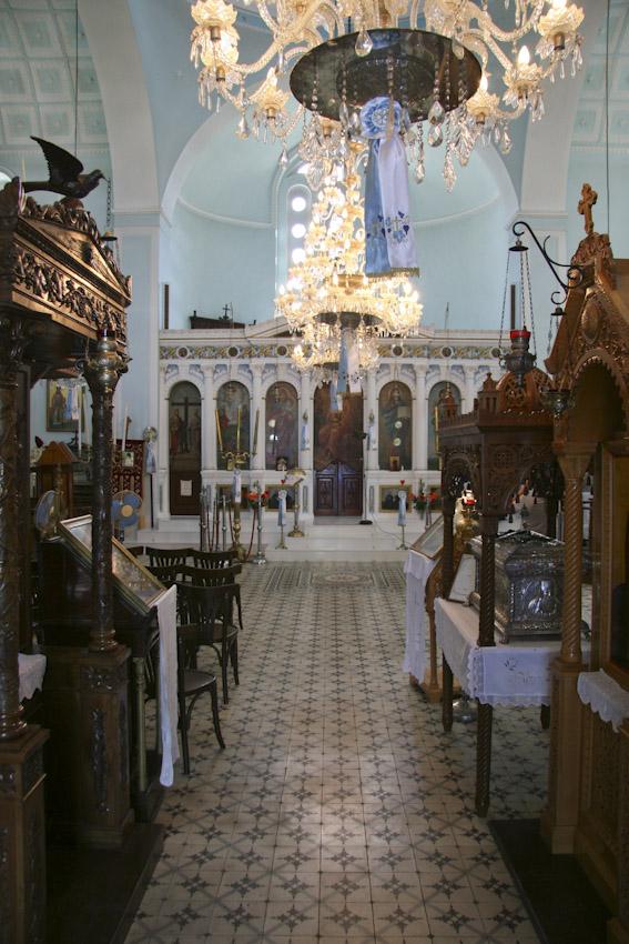 Ιερός ναός Μεταμορφώσεως του Σωτήρος, Σταυρός – Ιθάκη