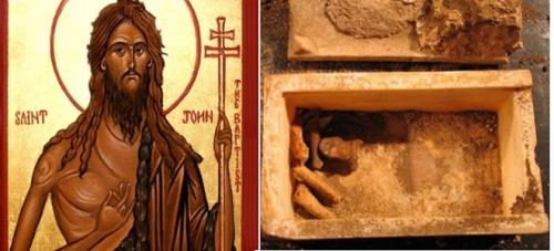 Ο Άγιος Ιωάννης ο Πρόδρομος στα «χέρια» των επιστημόνων και του Νational Geographic;