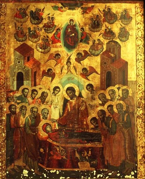 Λόγος εις την Κοίμησιν της Υπεραγίας Δεσποίνης ημών Θεοτόκου και Αειπαρθένου Μαρίας
