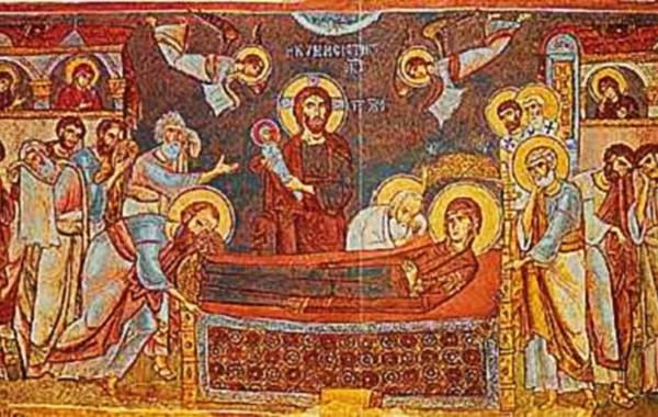 Η Κοίμηση της Θεοτόκου – Μετάβαση προς την Ζωή