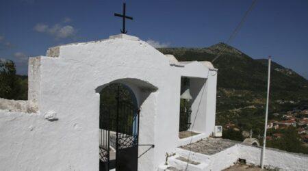 Ιερός Ναός Αγίας Βαρβάρας, Σταυρός, Ιθάκη