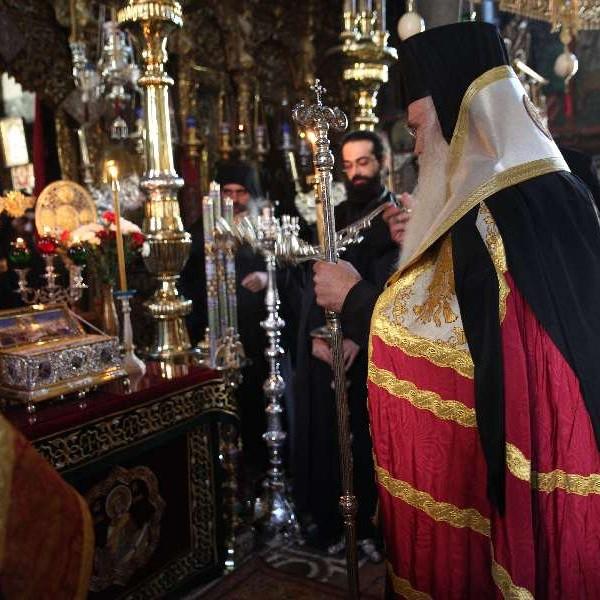 Εορτή της Τιμίας Ζώνης στην Ιερά Μονή Βατοπαιδίου (2012)