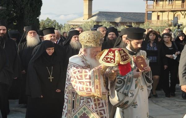 O Oικ. Πατριάρχης στο Ακριτοχώρι
