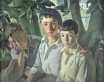 Οι τρείς παίδες και η πρώτη αγρυπνία