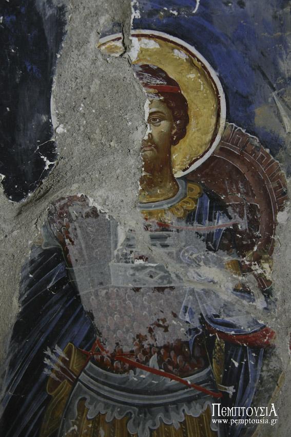 Οι θαυμάσιες αγιογραφίες της Ι.Μ. Ρεντίνας Αγράφων (φωτορεπορτάζ)