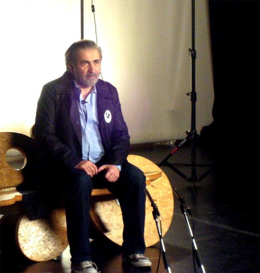 Λάκης Λαζόπουλος (από τη μαγνητοσκόπηση)