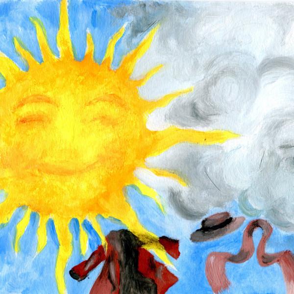 Ήλιος και Βοριάς