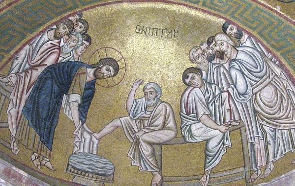 Η τελετή του Νιπτήρος στο ιερό νησάκι της Πάτμου