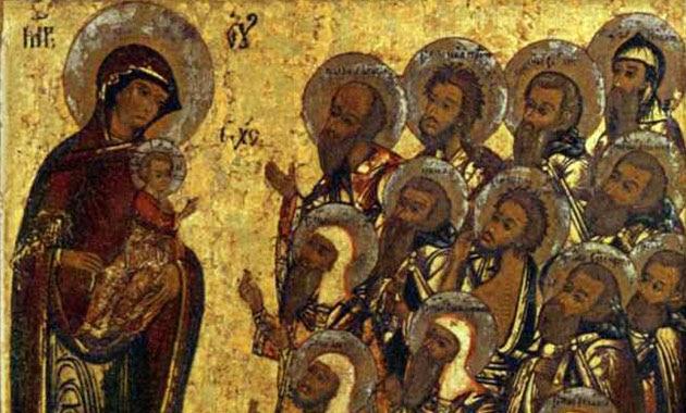 panagia, saints