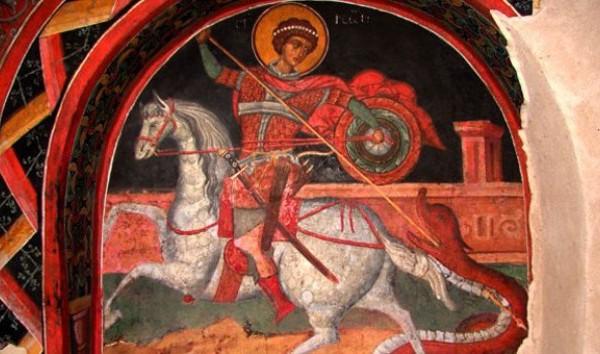 Η απεικόνιση του Αγίου Γεωργίου ως πολεμιστή