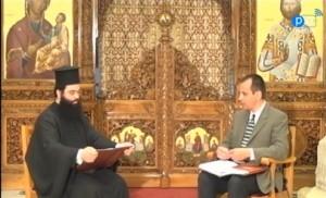Ο Χοράρχης της χορωδίας ᾽᾽Τρόπος᾽᾽, κ. Κωνσταντίνος Αγγελίδης στη Διαδικτυακή Τηλεόραση της Πειραϊκής Εκκλησίας (video)