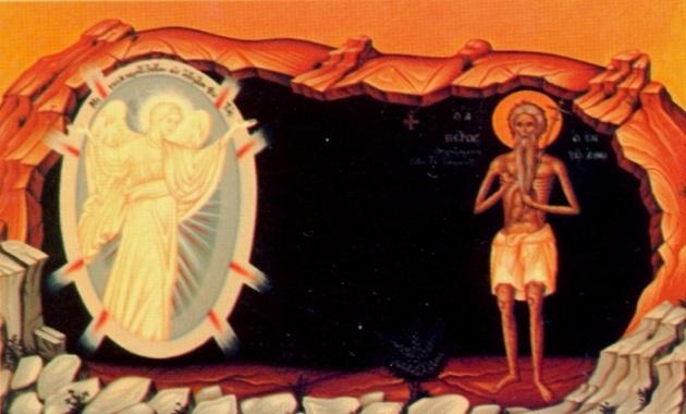O Σατανάς εμφανίζεται στον όσιο Πέτρο τον Αθωνίτη σαν άγγελος