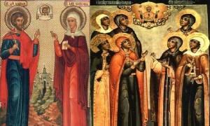 Οι Άγιοι Μάρτυρες Αδριανός και Ναταλία