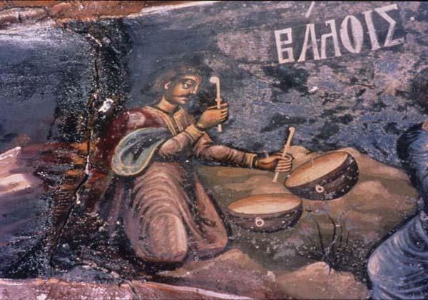 Τα μουσικά όργανα της βυζαντινής περιόδου