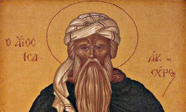 Αποτέλεσμα εικόνας για αγιος ισαακ ο συρος
