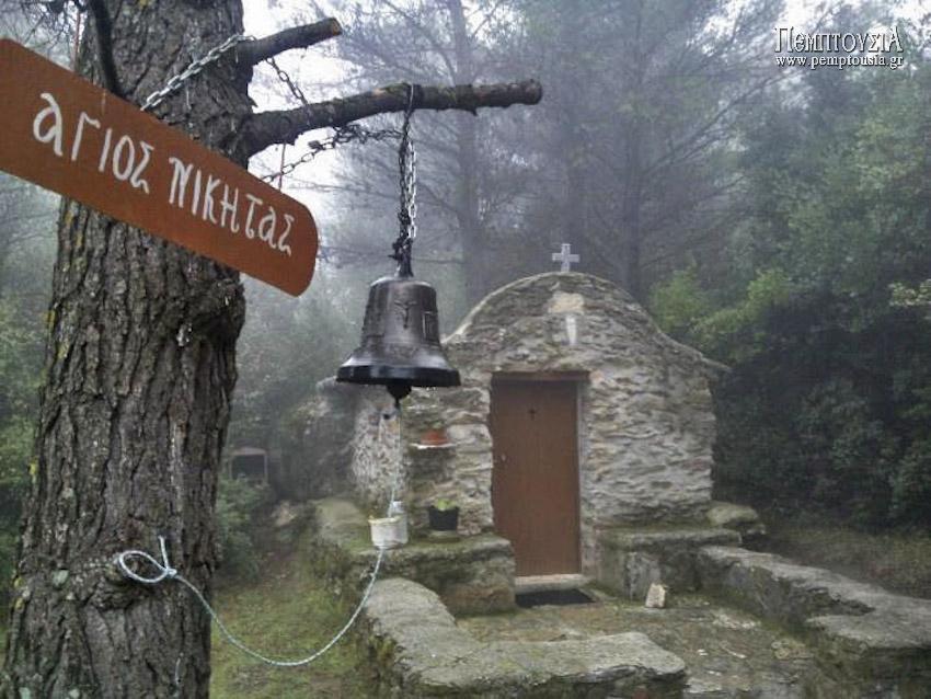 Ασκητήρια και μικρές εκκλησίες του Πεντελικού