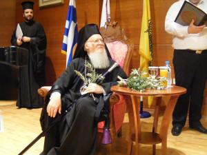 O Οικουμενικός Πατριάρχης στην Ανωτάτη Εκκλησιαστική Ακαδημία Θεσσαλονίκης