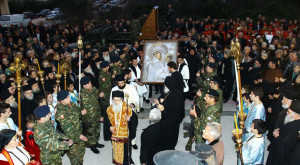 Η Παναγία Παραμυθία στην Άρτα: μεγαλειώδης & συγκινητική υποδοχή