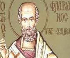 Άγ. Φλαβιανός, μάρτυρας Αρχιεπίσκοπος Κωνσταντινουπόλεως επί Βυζαντίου!...
